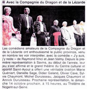 Article La Eépublique 09-04-2012 - Avant PROVINS