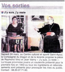 Article La République 19-03-2012 - Avant PROVINS